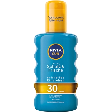 Nivea Sun spray 200ml Protect&Refresh SPF 30