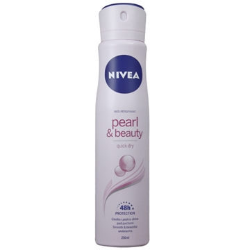 Nivea Deodorant Spray 250 ml  Pearl & Beauty