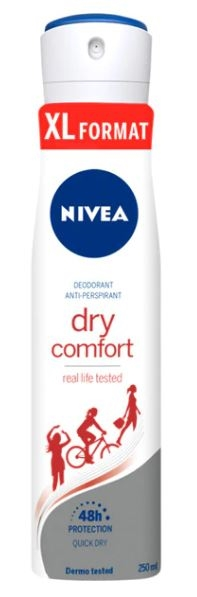 Nivea deodorant spray 250ml Dry comfort