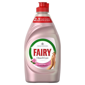 Fairy Wash Up Liquid With Love Rose&Satin 383ml