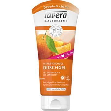Lavera shower 200ml Orange