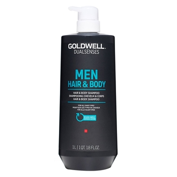GOLDWELL DUAL FOR MEN HAIR&BODY SHAMPOO 1L