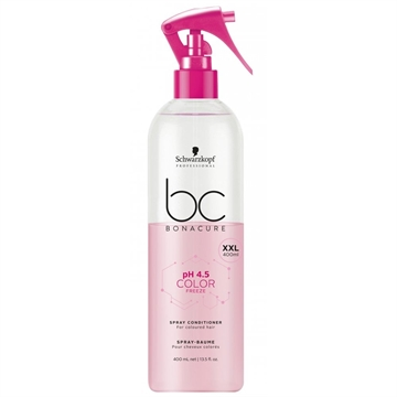 Bonacure Color Freeze Spray Conditioner Xxl 400ml Ph 4,5 For Coloured Hair