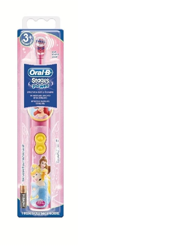 Oral-B Battery Brush Child Oscillerande Tandborste Flerfärgad
