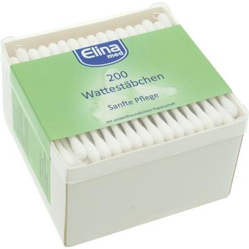 Cotton Swabs 200Pcs Square Container Paper Sticks