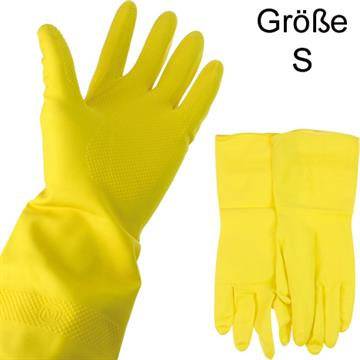 Rubber Gloves Small Latex W/ Lining