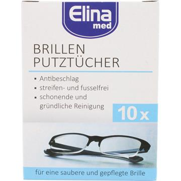 Glasses Cleaning Cloth Elina 10Pcs In Folding Box