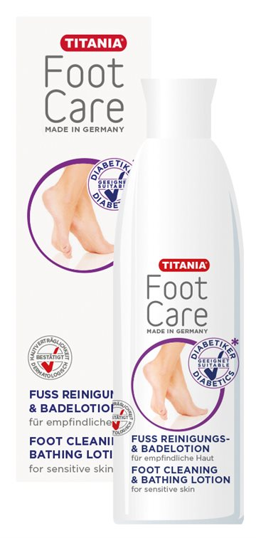 Titania Foot Clean & Lotion Diabetes