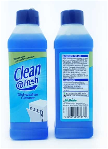 Clean & Fresh Dishwasher Cleaner 250ml