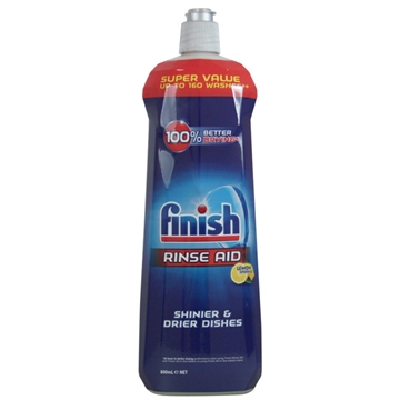 Finish Dishwasher Rinse Aid Lemon 800ml