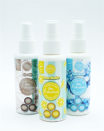 Fabulosa Mini Lemon & Fresh Disinfectant 60ml