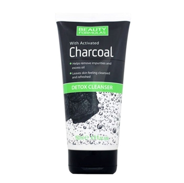 Beauty Formulas Charcoal Detox Cleans 150ml