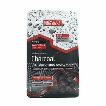 Beauty Formulas Charcoal Facial Mask 13G