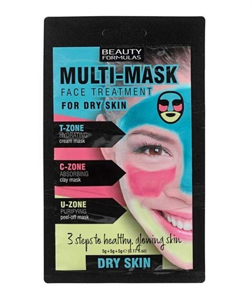 Beauty Formulas Multi Mask For Dry Skin 15G