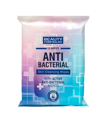 Beauty Formulas Antibac Skin Cleansing Wipes 15'