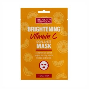 Beauty Formulas Vitamin C Facial Sheet Mask 1'
