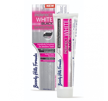 Beverly Hills Formula 100ml Perfect White Toothpaste Black Sensitive