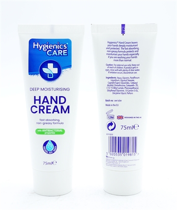 Hygienics Antibacterial Hand Cream 75ml