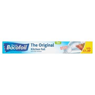 Bacofoil Kitchen Foil 300Mmx5M