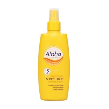 Aloha Lotion Spray SPF15 200ml