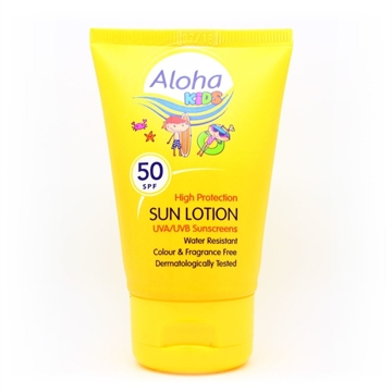 Aloha Kids Sun Lotion Pocket Pack 50ml