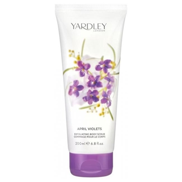Yardley English Lavender Exfoliating Body Scrub 200ml Gommage Pour Le Corps