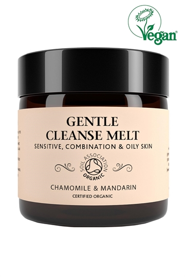 Botanicals Natural Organic Skincare Gentle Cleanse Melt Chamomile Mandarin 60G Sensitive, Combination, Oily