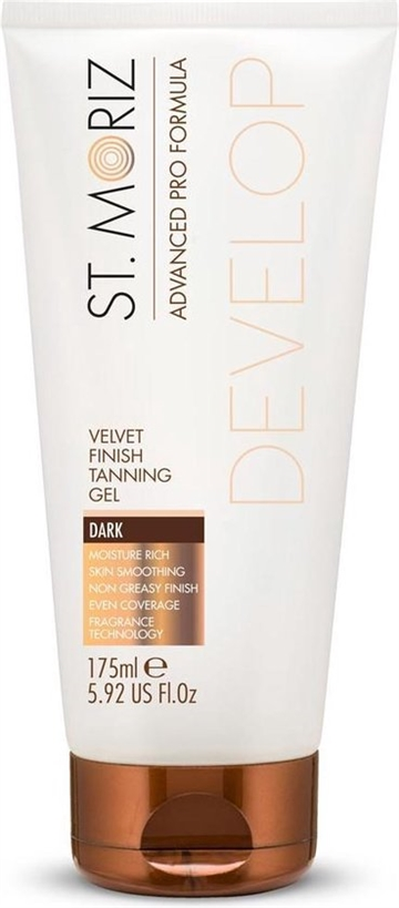 St. Moriz Advanced Pro Formula 175ml Tanning Gel Velvet Finish Dark