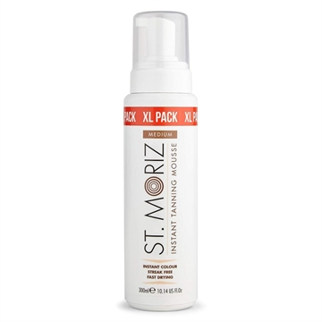 St. Moriz Professional Instant Self Tanning Mousse Medium 300ML