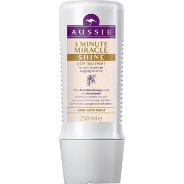AUSSIE 3 MINUTE MIRACLE TREATMENT SHINE 250ML