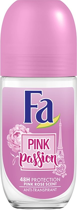 Fa Deodorant Roll-On Crystal 50 ml Pink Passiã³N