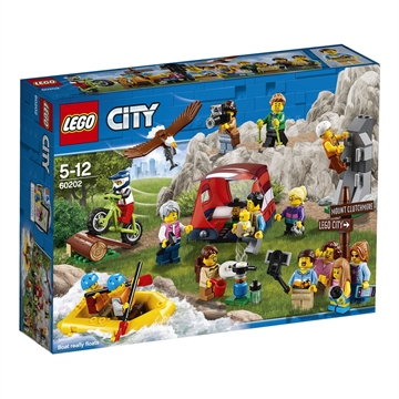 LEGO City Town 60202 People Pack - Outdoor Adventures