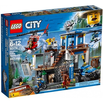 LEGO City Police 60174 Mountain Police Headquarters