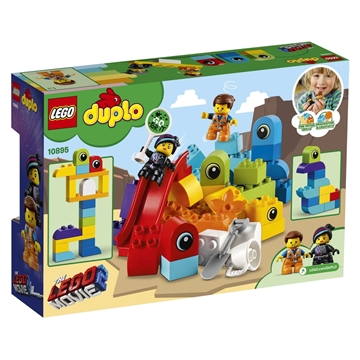 LEGO DUPLO Jurassic World 10895 Emmet and Lucy's Visitors from the DUPLO