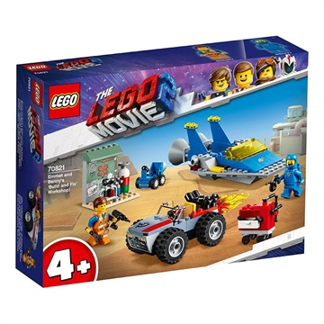 LEGO Movie 70821 Emmet and Benny's 'Build and Fix' Worksh