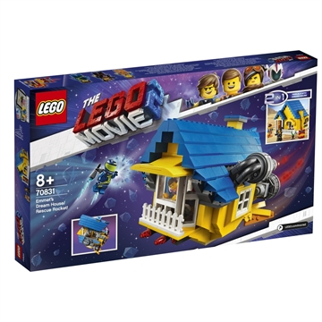 LEGO Movie 70831 Emmet's Dream House/Rescue Rocket!