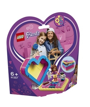 LEGO Friends 41357 Olivia's Heart Box