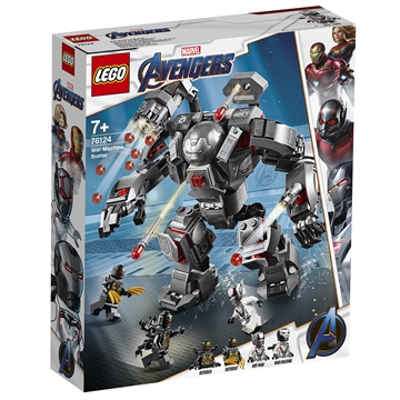 LEGO Avengers Heroes 76124 War Machine Buster