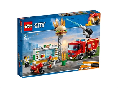 LEGO City Fire 60214 Burger Bar Fire Rescue