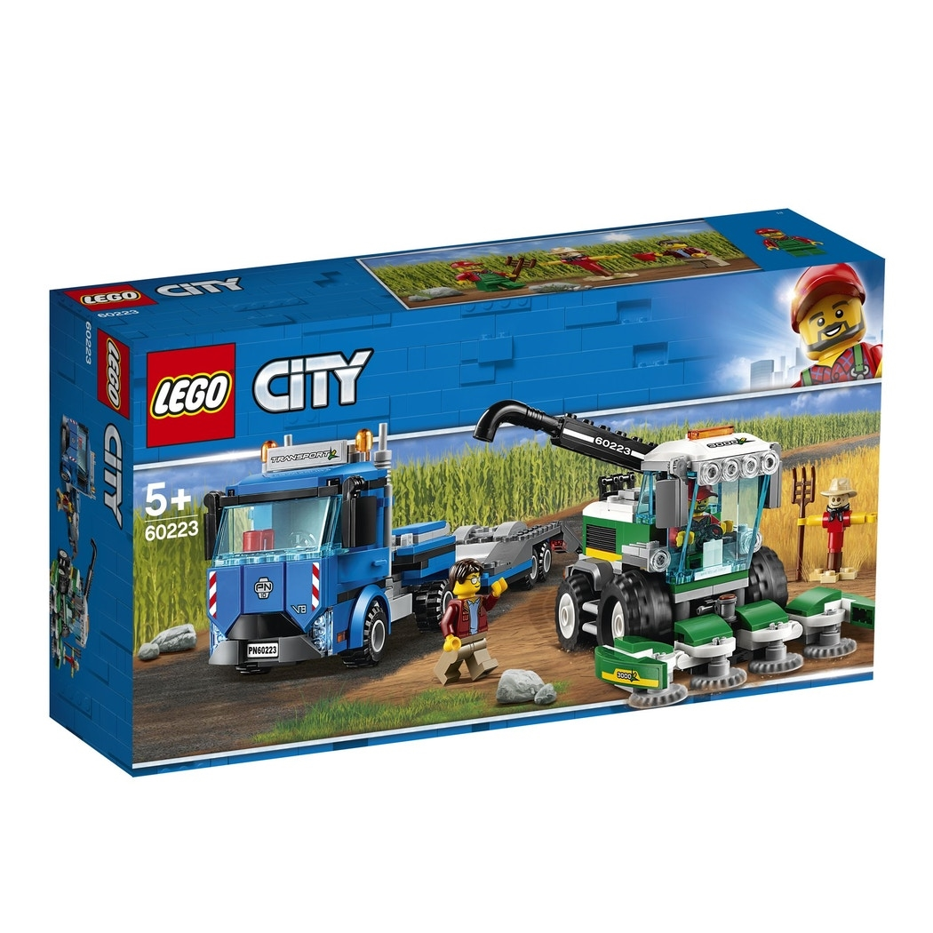 LEGO City Great Vehicles 60223 Harvester Transport