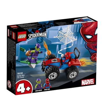 LEGO Super Heroes Spider-Man Car Chase 76133