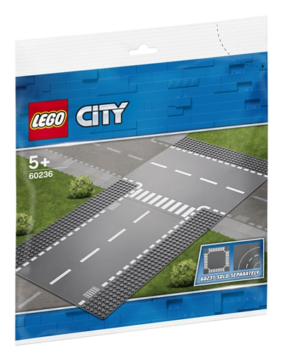 LEGO City Supplementary 60236 Straight and T-junction