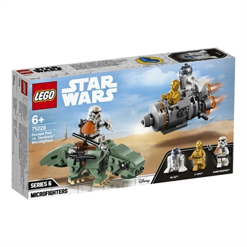 LEGO Star Wars TM 75228 Escape Pod vs. Dewback™ Microfighters