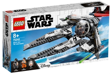 LEGO Star Wars TM 75242 Black Ace TIE Interceptor™