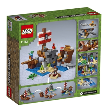 LEGO Minecraft 21152 The Pirate Ship Adventure