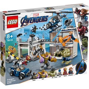 LEGO Super Heroes 76131 Avengers Compound Battle