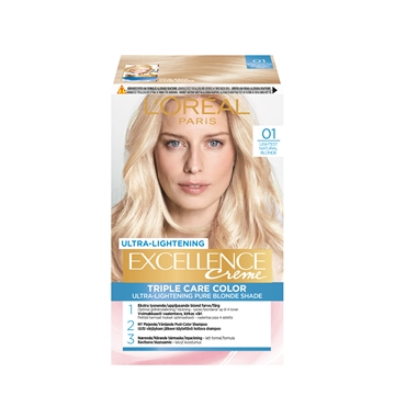 L'ORÉAL  Excellence 01 Lightest Natural Blonde 01 192ML