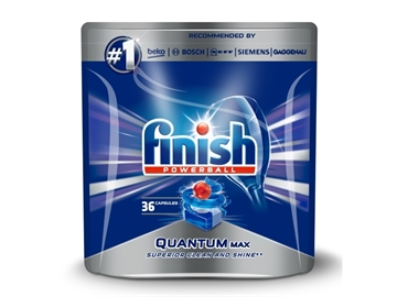 Finish Dishwasher Powerball 36' Quantum Max