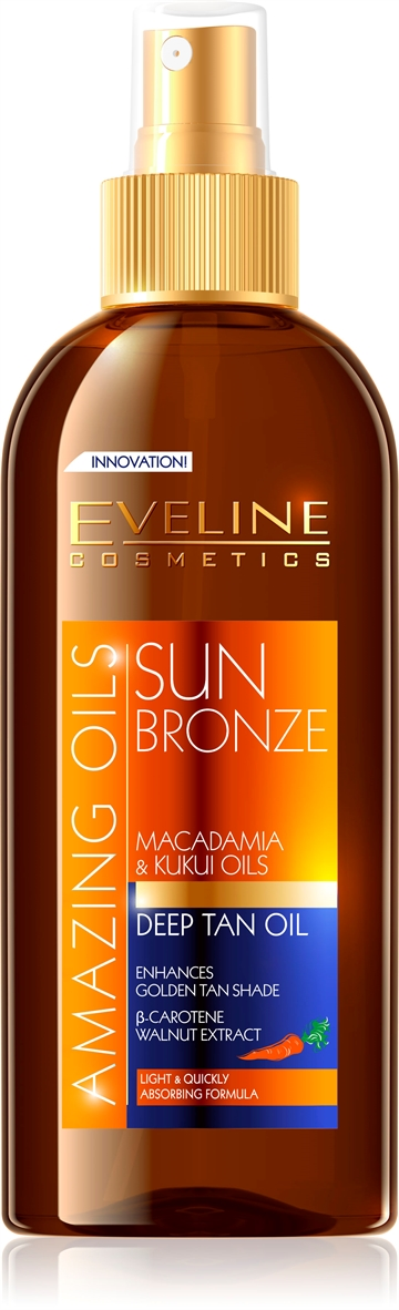 Eveline Amazing Oils Sun Bronze Deep Tan Oil 150ml