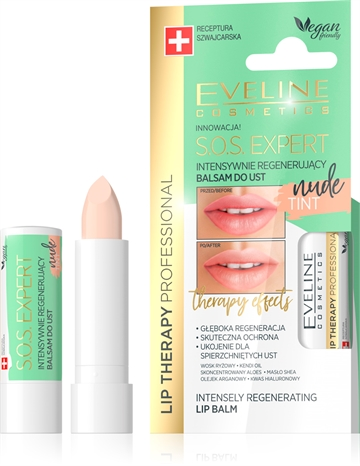 Eveline Lip Therapy 6In1 Care&Colour Tint Nude